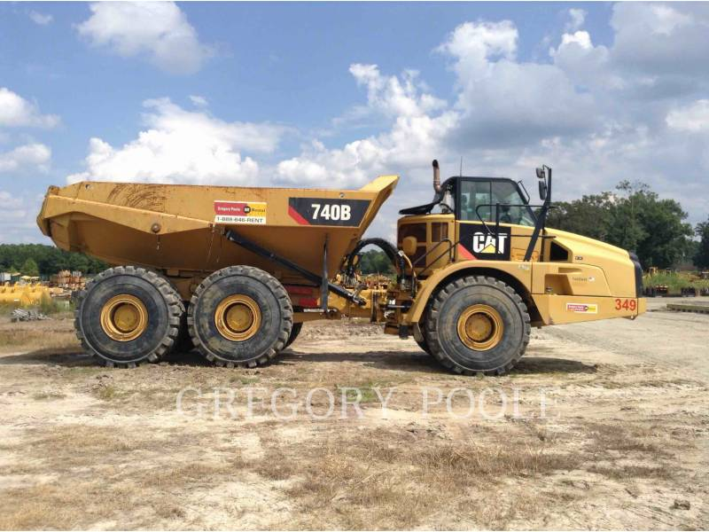 CATERPILLAR TOMBEREAUX ARTICULÉS 740B/TAIL equipment  photo 7