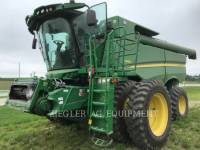 DEERE & CO. COMBINES S660 equipment  photo 1