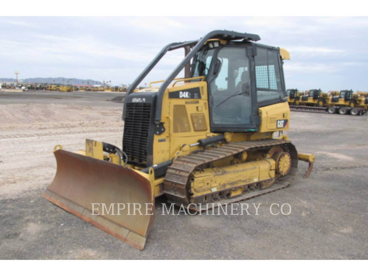 Detail photo of 2012 Caterpillar D4K XL II from Construction Equipment Guide