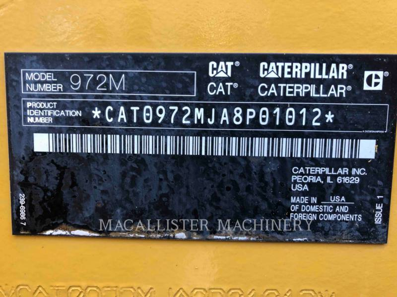 CATERPILLAR WHEEL LOADERS/INTEGRATED TOOLCARRIERS 972M equipment  photo 9