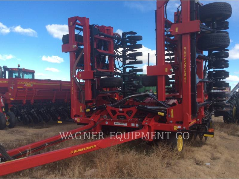 SUNFLOWER MFG. COMPANY  TILLER SF9850-60 equipment  photo 1
