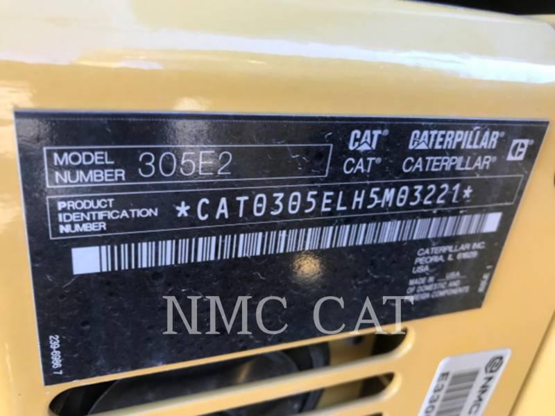 CATERPILLAR KETTEN-HYDRAULIKBAGGER 305E2 equipment  photo 6