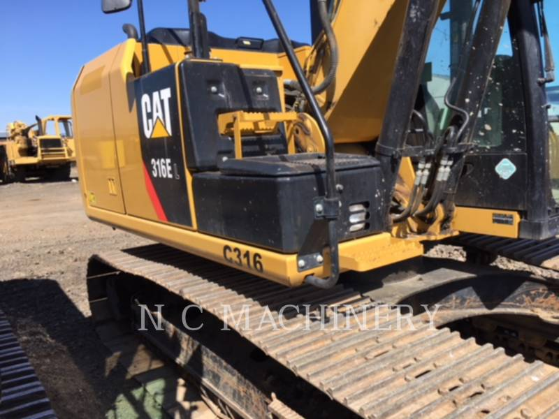 CATERPILLAR TRACK EXCAVATORS 316E L equipment  photo 1