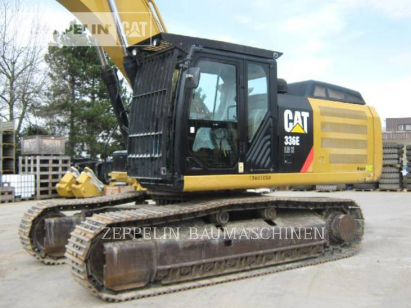 CATERPILLAR KETTEN-HYDRAULIKBAGGER 336ELNH equipment  photo 8