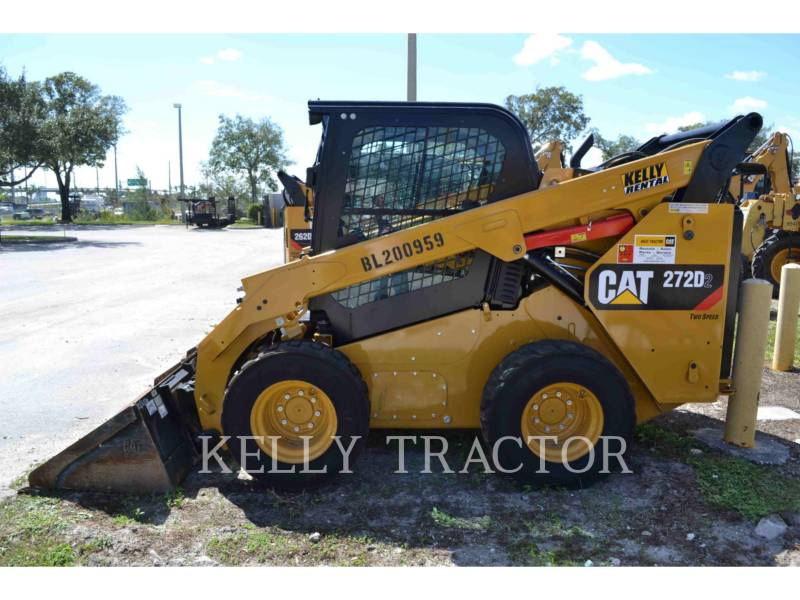 CATERPILLAR CHARGEURS COMPACTS RIGIDES 272D2 equipment  photo 3
