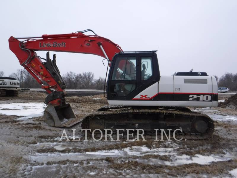 LINK-BELT CONST. TRACK EXCAVATORS 210X2 equipment  photo 5