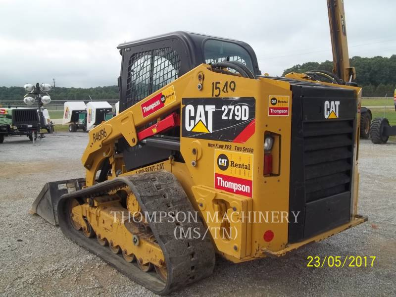 CATERPILLAR SKID STEER LOADERS 279DHF equipment  photo 2
