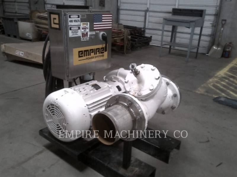MISC - ENG DIVISION HVAC : CHAUFFAGE, VENTILATION, CLIMATISATION PUMP 60HP equipment  photo 4