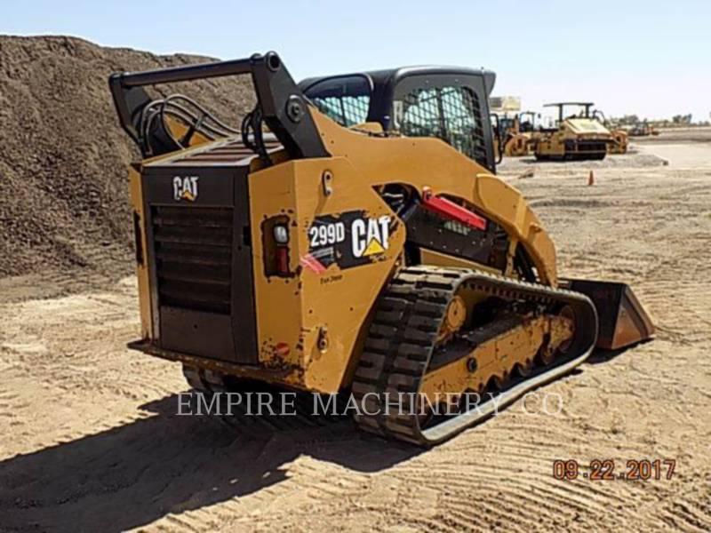CATERPILLAR SKID STEER LOADERS 299D CA equipment  photo 5