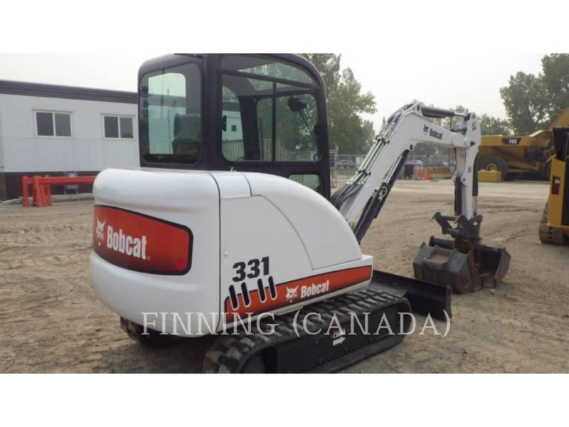 BOBCAT TRACK EXCAVATORS 331G equipment  photo 3