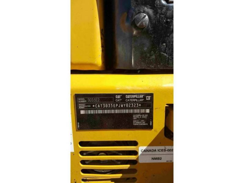 CATERPILLAR ESCAVADEIRAS 303.5E2CR equipment  photo 12