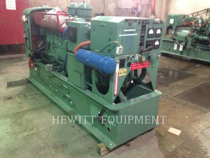 DETROIT DIESEL STATIONARY GENERATOR SETS 6-71, 100KW 120/208 VOLTS equipment  photo 3