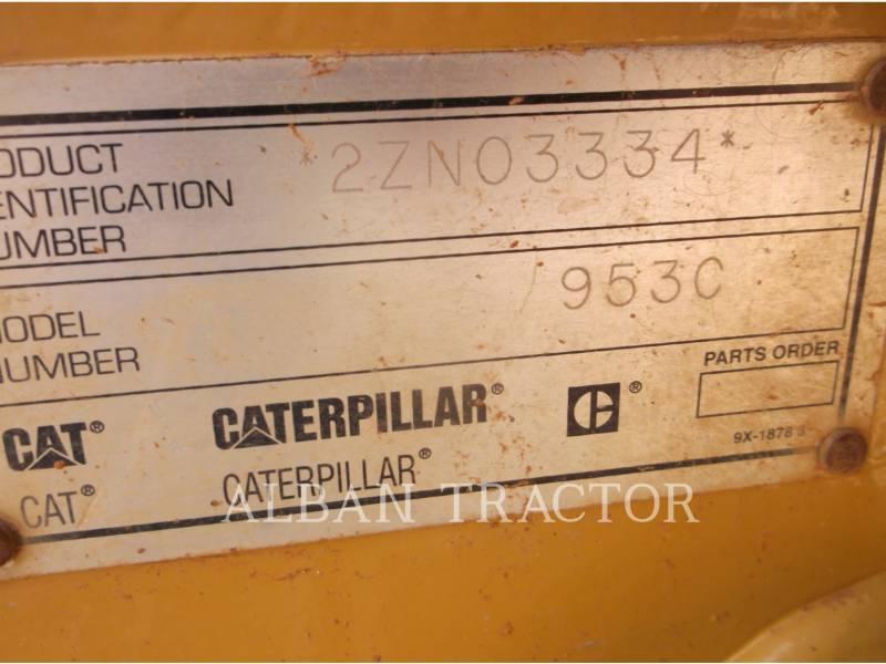 CATERPILLAR CARGADORES DE CADENAS 953C equipment  photo 7