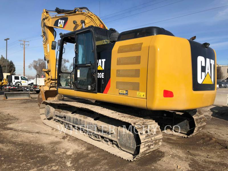 CATERPILLAR TRACK EXCAVATORS 320E L CF equipment  photo 5