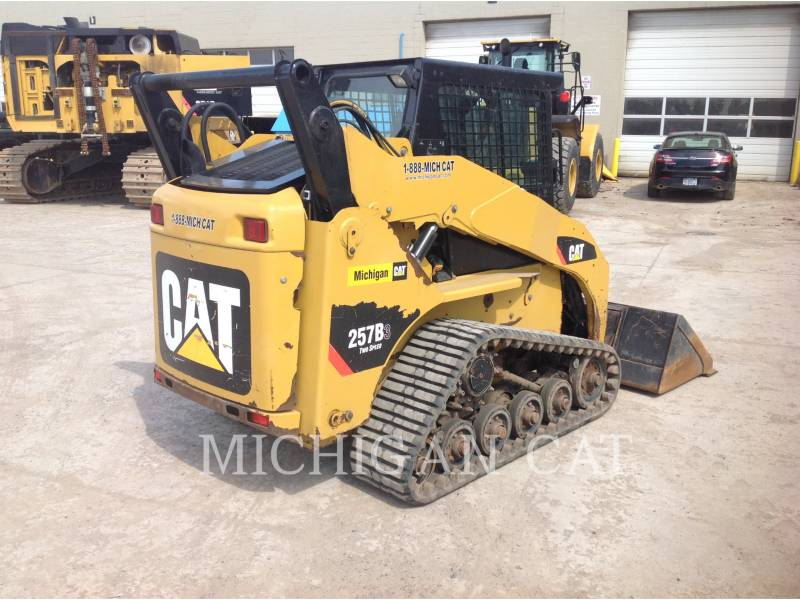 CATERPILLAR CARGADORES MULTITERRENO 257B3 A2Q equipment  photo 3