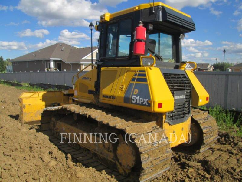 KOMATSU TRACK TYPE TRACTORS D51PX-22 equipment  photo 3