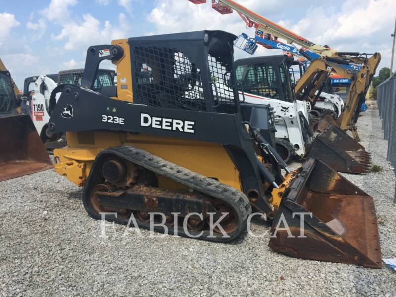JOHN DEERE CARREGADEIRAS TODO TERRENO 323E equipment  photo 1