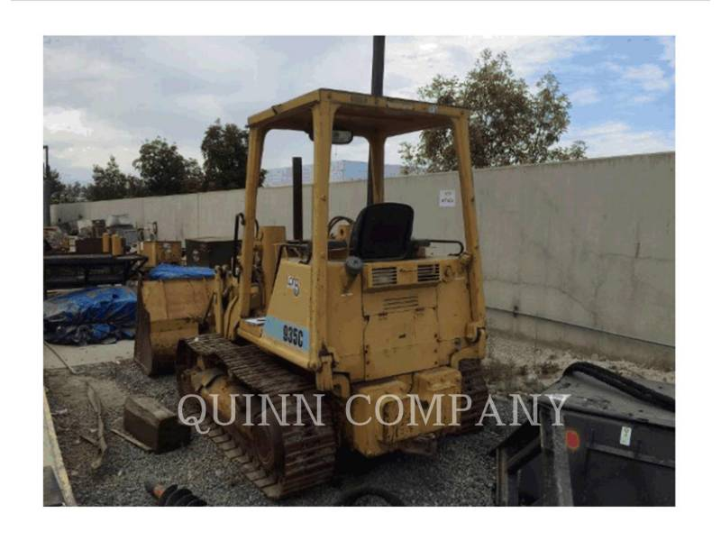 CATERPILLAR TRACK LOADERS 935C equipment  photo 4