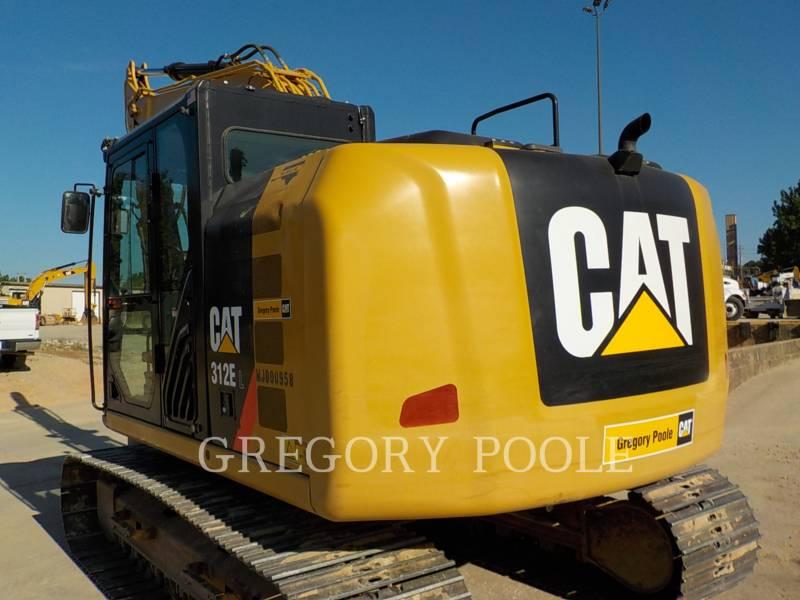 CATERPILLAR TRACK EXCAVATORS 312E L equipment  photo 8