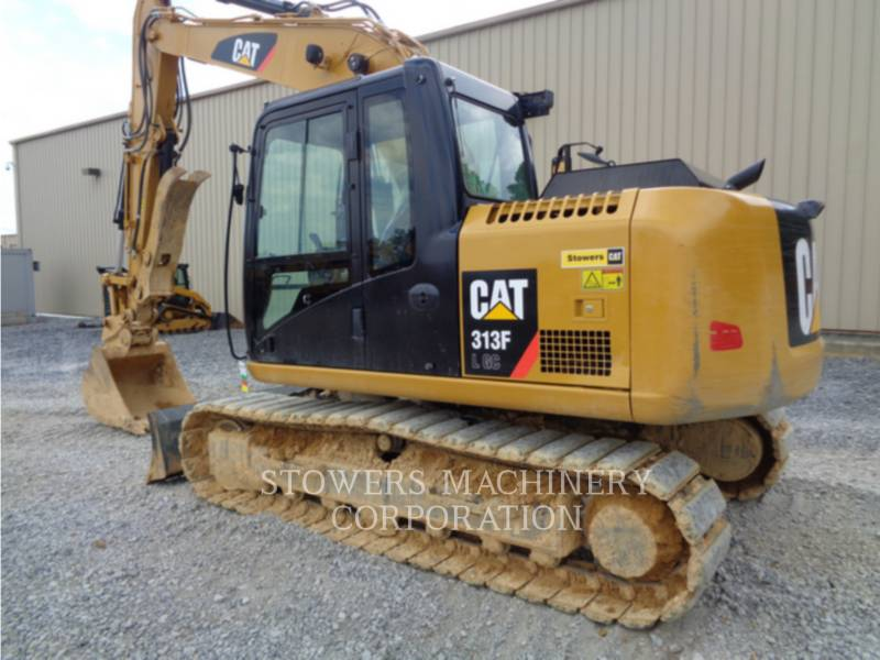 CATERPILLAR ESCAVATORI CINGOLATI 313F GC equipment  photo 1