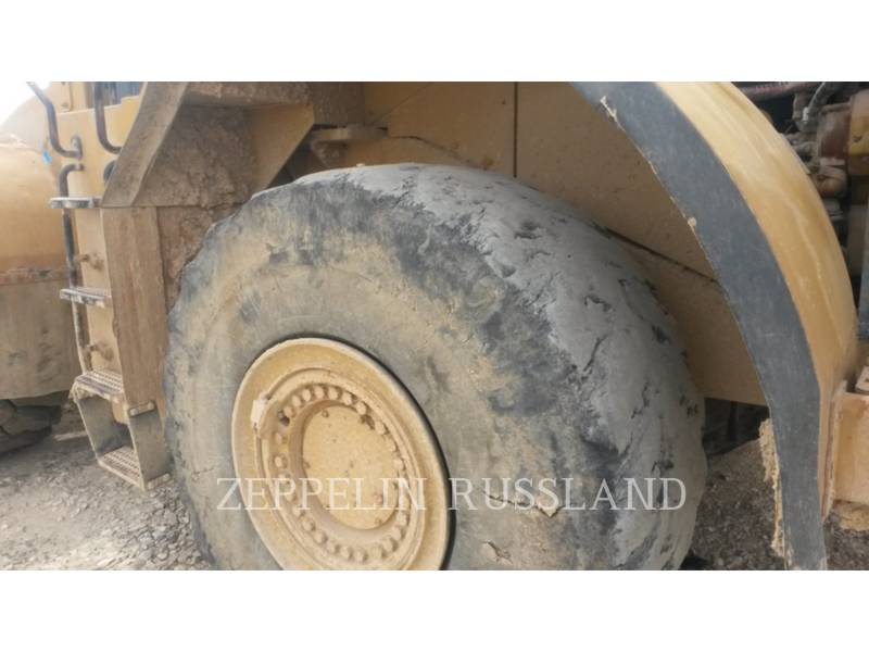 CATERPILLAR CHARGEURS SUR PNEUS MINES 980GII equipment  photo 14