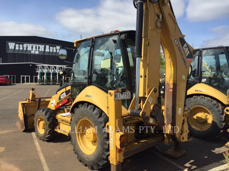 CATERPILLAR BACKHOE LOADERS 422E equipment  photo 2