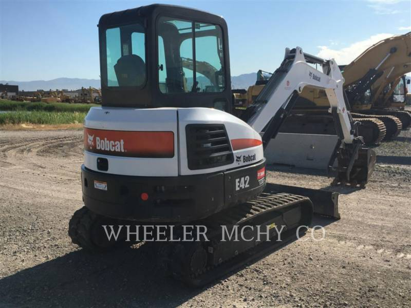 BOBCAT TRACK EXCAVATORS E42 equipment  photo 3