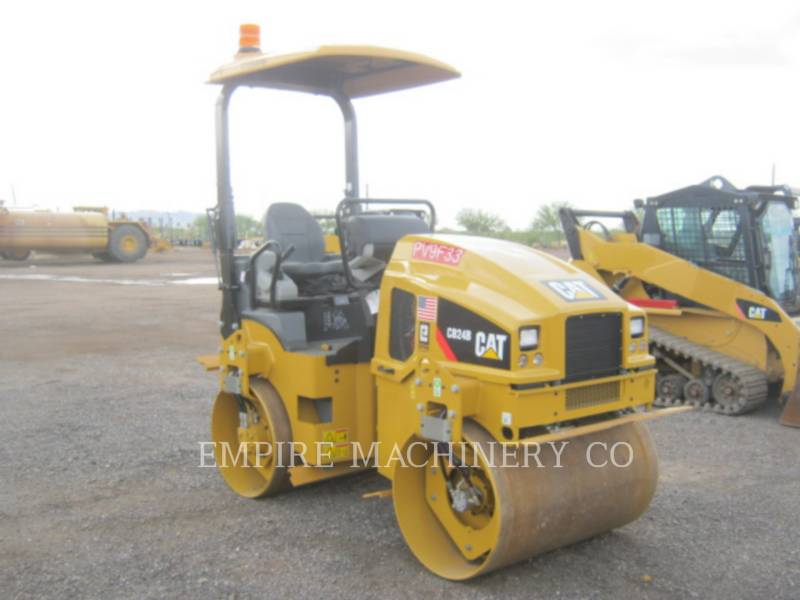 CATERPILLAR COMPACTEURS TANDEMS VIBRANTS CB24B equipment  photo 1