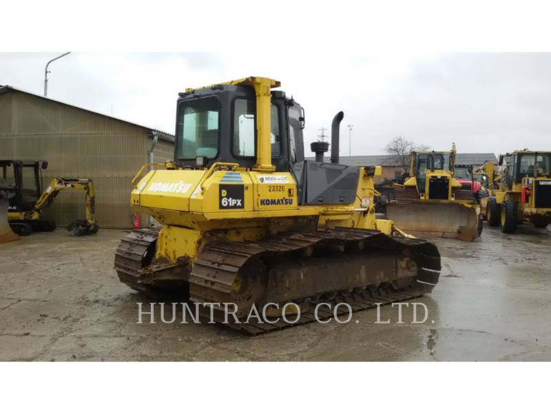 KOMATSU LTD. CIĄGNIKI GĄSIENICOWE D61PX-15 equipment  photo 2