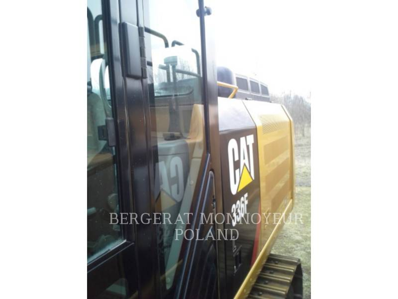 CATERPILLAR KETTEN-HYDRAULIKBAGGER 336F equipment  photo 12