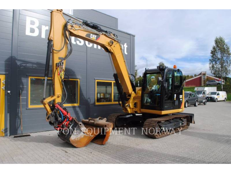 CATERPILLAR KETTEN-HYDRAULIKBAGGER 308E equipment  photo 11