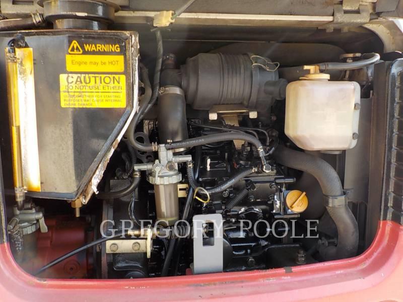 TAKEUCHI MFG. CO. LTD. TRACK EXCAVATORS TB016 equipment  photo 13