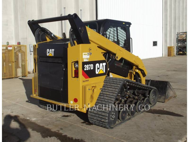 CATERPILLAR KOMPAKTLADER 287D equipment  photo 4