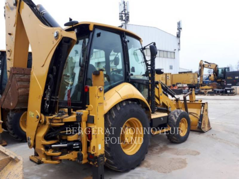 CATERPILLAR CHARGEUSES-PELLETEUSES 428F equipment  photo 2