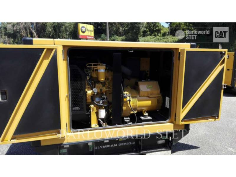 OLYMPIAN MOBILE GENERATOR SETS GEP33 equipment  photo 5