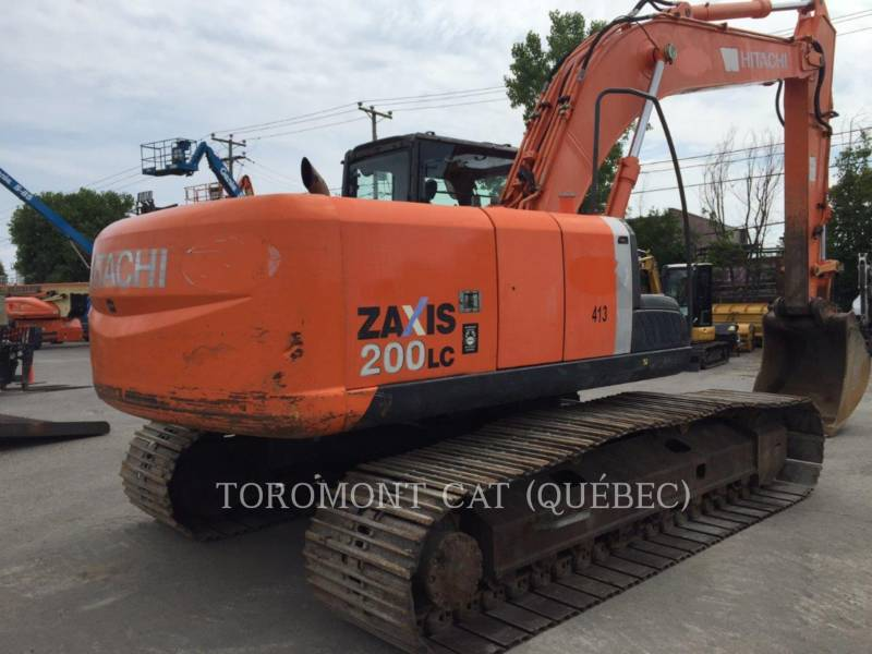 HITACHI EXCAVADORAS DE CADENAS ZX200LC3 equipment  photo 3