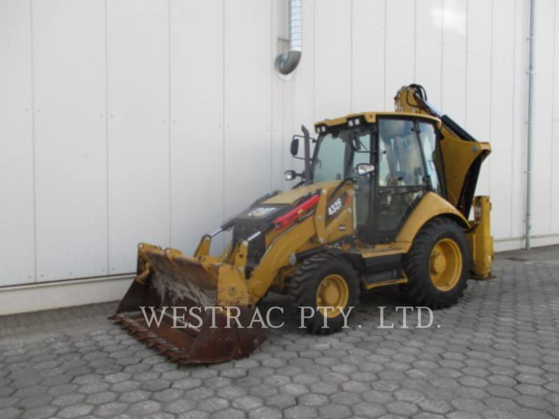 CATERPILLAR BACKHOE LOADERS 432F equipment  photo 1