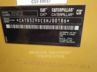 CATERPILLAR TRACK EXCAVATORS 329D2 equipment  photo 6