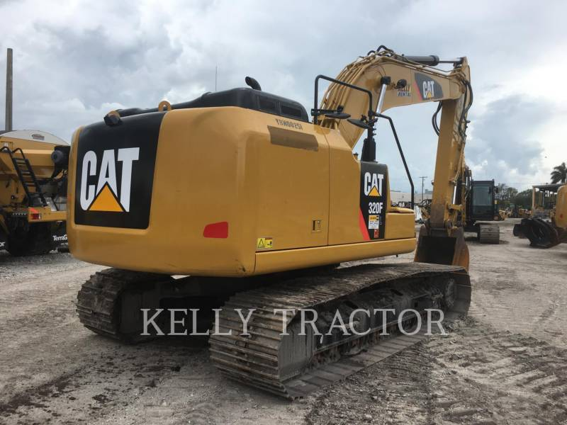 CATERPILLAR TRACK EXCAVATORS 320FL equipment  photo 5