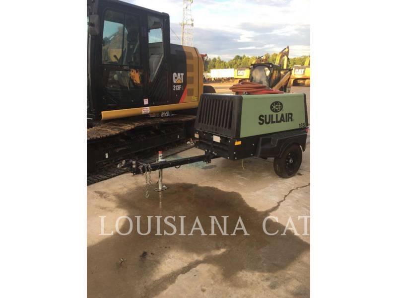 SULLAIR COMPRESOR AER 185COMPWHL equipment  photo 3