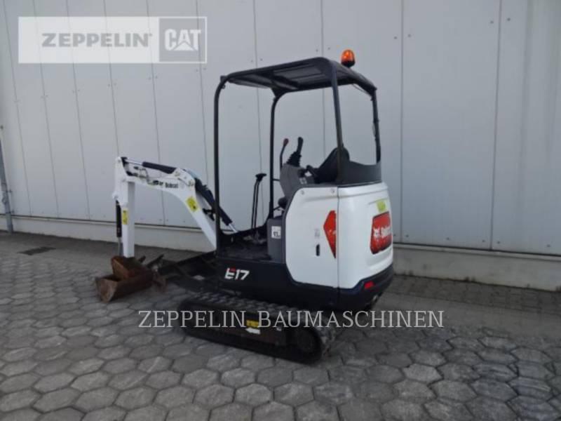 BOBCAT TRACK EXCAVATORS E17 equipment  photo 3
