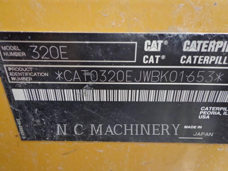 CATERPILLAR TRACK EXCAVATORS 320E L equipment  photo 8