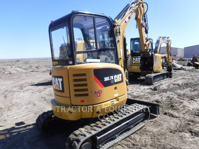 CATERPILLAR トラック油圧ショベル 302.7DCRCB equipment  photo 3