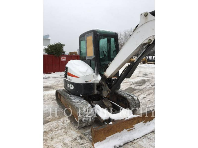 BOBCAT PELLE MINIERE EN BUTTE E45 equipment  photo 11