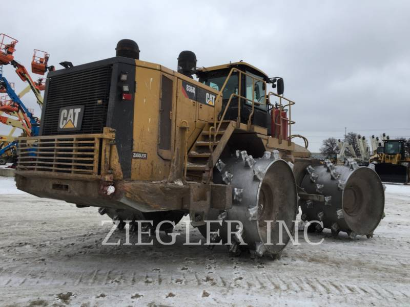 CATERPILLAR TRACTEURS SUR PNEUS 836K equipment  photo 4