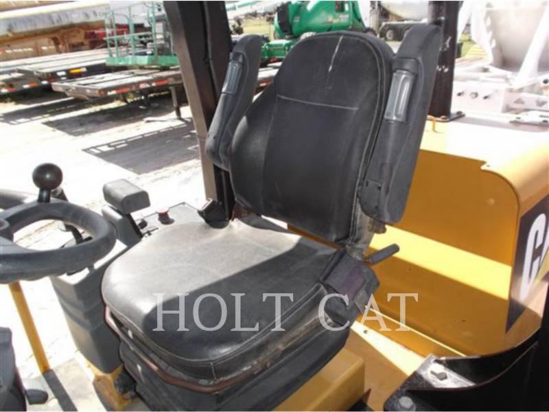CATERPILLAR 振動シングル・ドラム・パッド CS533E equipment  photo 12