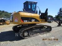 Equipment photo CATERPILLAR 320DFMLL LOG LOADERS 1