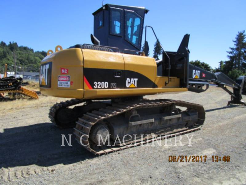 CATERPILLAR MASZYNA LEŚNA 320D FMLL equipment  photo 1