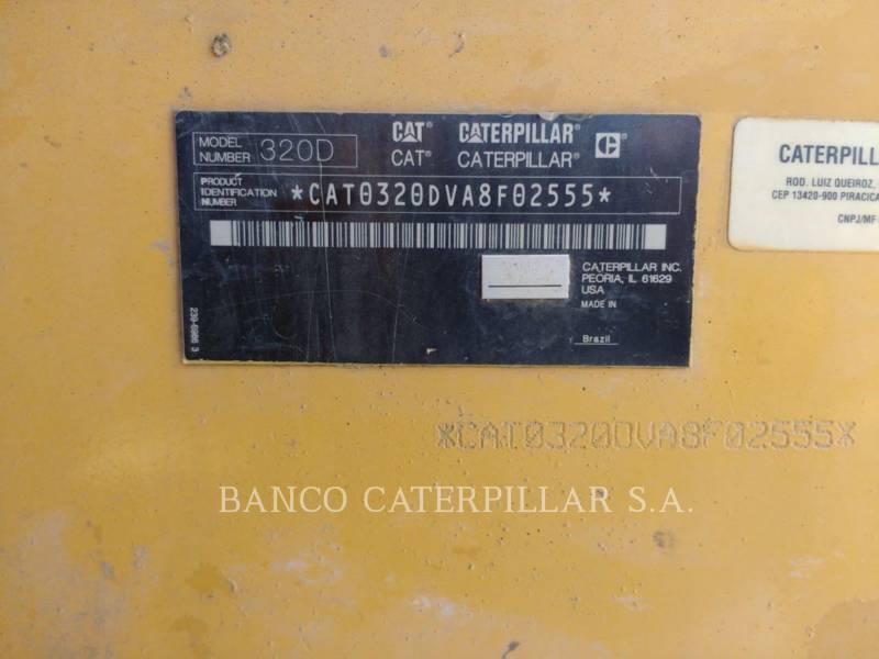 CATERPILLAR PELLES SUR CHAINES 320DL equipment  photo 5