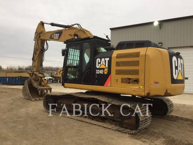 CATERPILLAR PELLES SUR CHAINES 324E HT equipment  photo 2